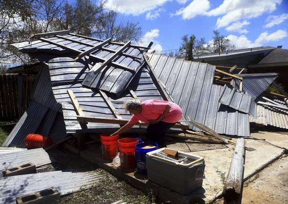 Der Sturm sorgte für grosse Zerstörung.