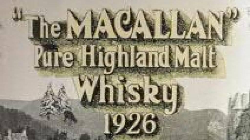 Flasche Scotch für 1,9 Millionen Franken versteigert
