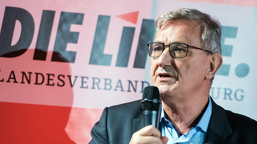 ARCHIV - Nach der Linken-Chefin Kipping hat auch ihr Co-Vorsitzender Bernd Riexinger angekündigt, im Oktober nicht wieder für den Spitzenposten zu kandidieren. Foto: Daniel Bockwoldt/dpa
