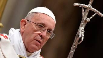 Papst Franziskus hat die Christmesse im Petersdom gefeiert. (Archiv)
