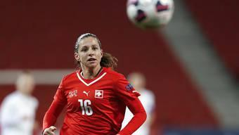 Fabienne Humm schoss die Schweizerinnen früh in Führung
