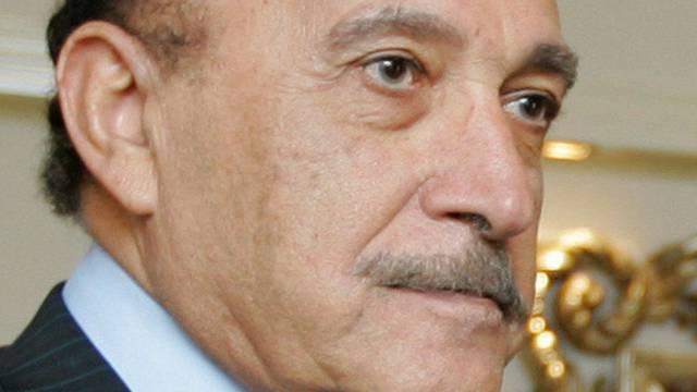 Der Ex-Geheimdienstchef Ägyptens Omar Suleiman (Archiv)