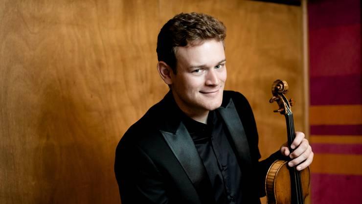 Sebastian Bohren freut sich auf den Auftritt mit dem Kurpfälzische Kammerorchester Mannheim.