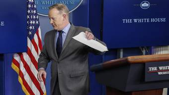Mediensprecher Sean Spicer