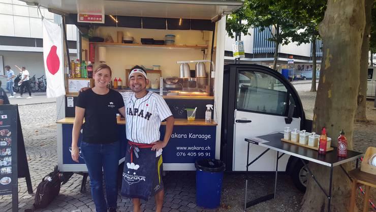 Vor drei Jahren kauften Manuela und Yuji Nakamura einen Mini-Foodtruck.