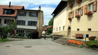 Enge Strassen: Durchgang im Obermumpfer Oberdorf.