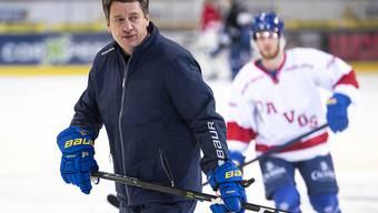 Der Davoser Headcoach Harijs Witolinsch könnte langfristige Lösung