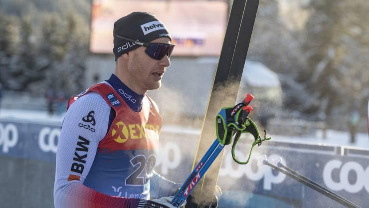 Dario Cologna hat seine gute Form in der Tour de Ski bisher noch nicht wie gewünscht in Resultate ummünzen können.