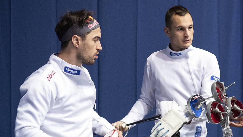 Schweizer Männerdegen-Team vertagt Olympia-Qualifikation
