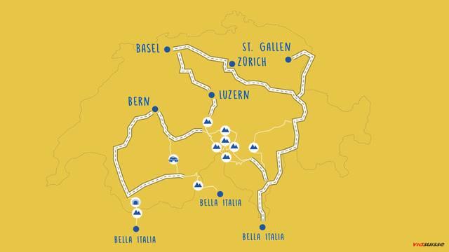 Die Geheimtipps von Viasuisse: So geht es ohne Stau in den Süden