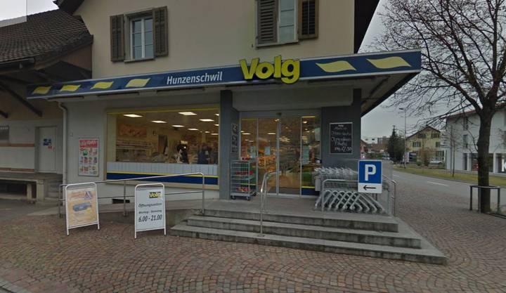 Die Volg-Filiale in Hunzenschwil.