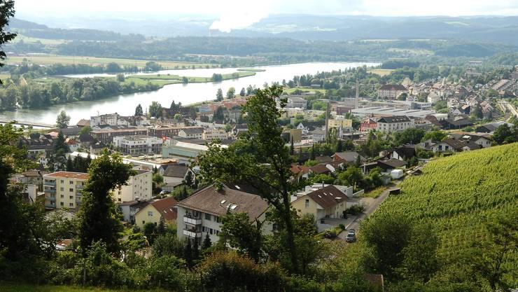 Döttingen (im Bild) und Koblenz haben die höchsten Sozialhilfequoten im Bezirk Zurzach.