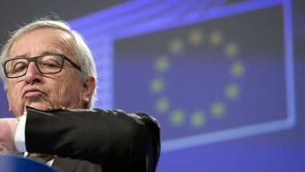 Bald Zeit zu gehen - Jean-Claude Juncker hält in Strassburg seine letzte Rede als EU-Kommissionspräsident zur  Rede zur Lage der Europäischen Union.
