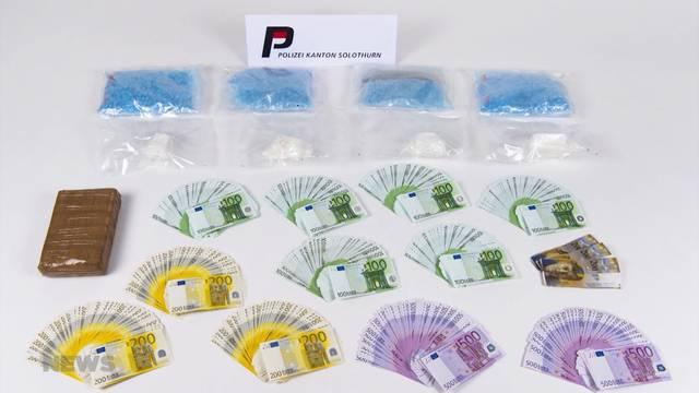 Kapo Solothurn verhaftet zwei mutmassliche Drogendealer