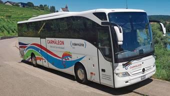 Die 15 Reisebusse der Carmäleon Reisen AG aus Rekingen sind im Juni normalerweise bis zu 400 Mal unterwegs, dieses Jahr kommen sie gerade mal auf 21 Einsätze.