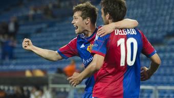 Super Team: Delgado mit zwei Toren, Stocker mit einem Treffer und einem Assist.