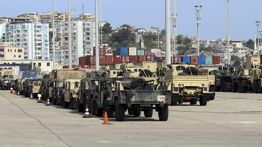 US-Streitkräfte trainieren in Europa bei riesiger Militärübung