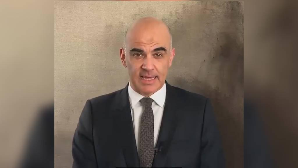 Alain Berset: «In den nächsten Tagen starten wir mit dem Impfen»
