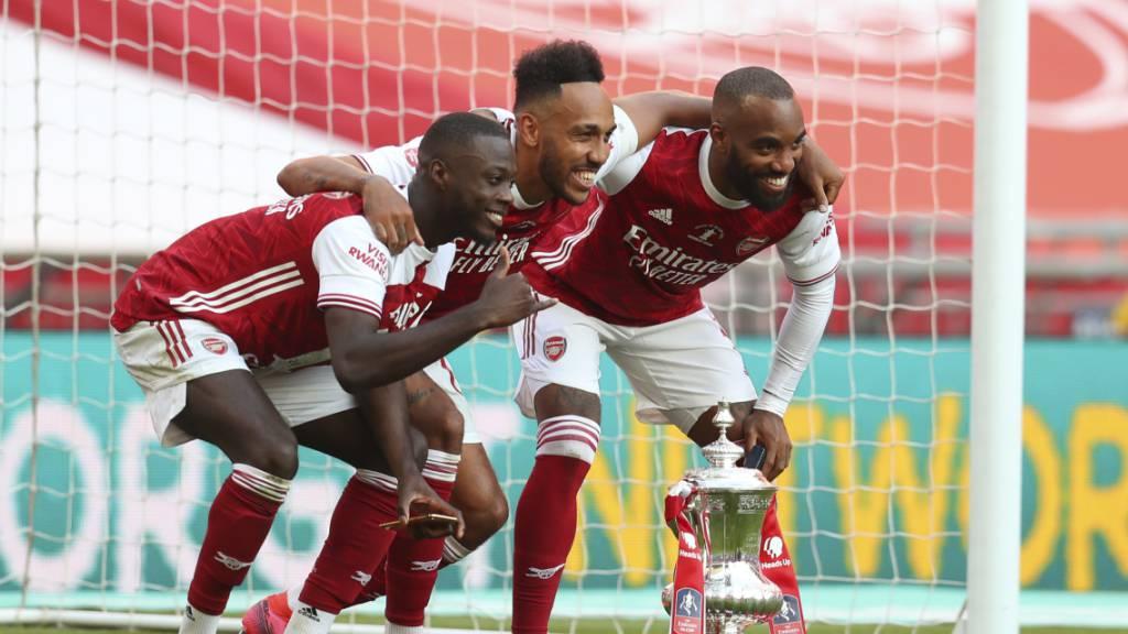 Arsenal verlängert mit Aubameyang
