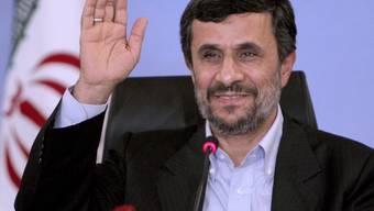 Irans Präsident Mahmud Ahmadinedschad in Istanbul