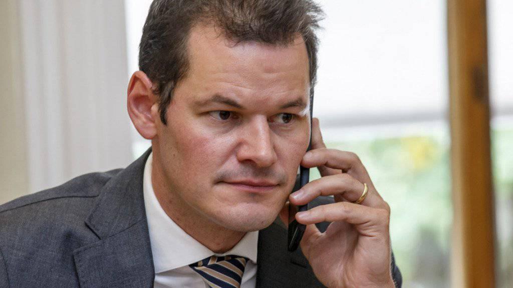 Der Genfer Sicherheitsdirektor Pierre Maudet: Für im Amt begangene Verstösse geniessen Regierungsmitglieder normalerweise Immunität. (Archiv)