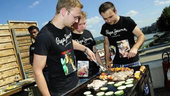 Impressionen von der Grillmeisterschaft  in Basel