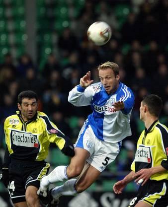 Als Spieler holte Marc Hodel (Mitte) zwei Schweizermeistertitel mit den Grasshoppers.