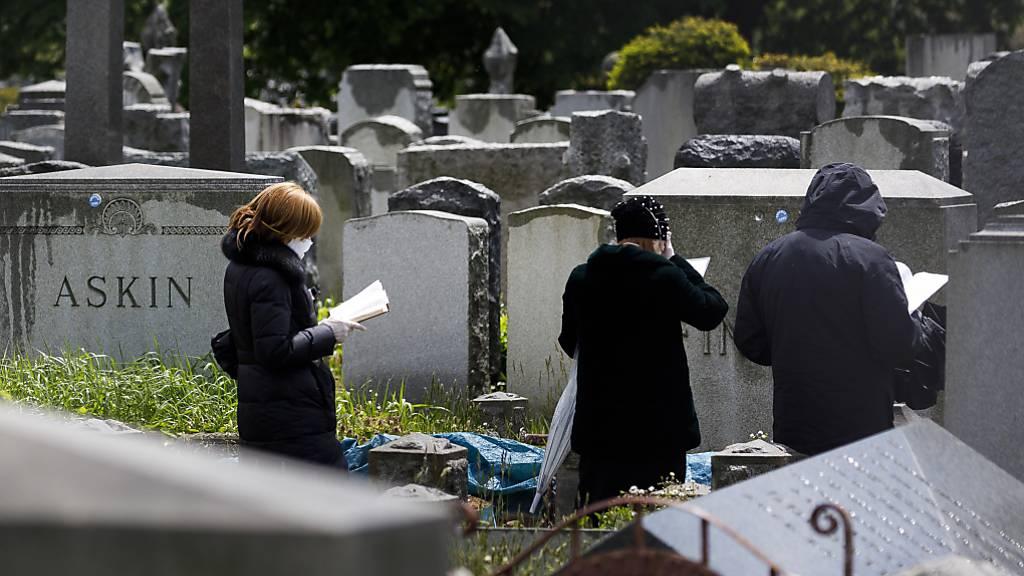 Forscher sagen 200'000 Tote in USA bis Oktober voraus