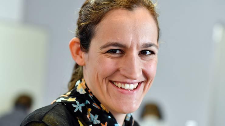 Marionna Schlatter, Präsidentin Grüne Kanton Zürich kandidiert für den Ständerat.