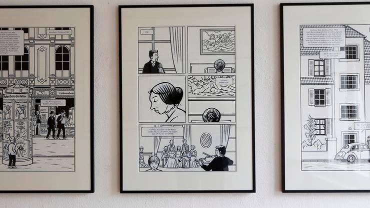 Graphic Novels von Christophe Badoux sind neben anderen im Künstlerhaus S11 zu sehen.