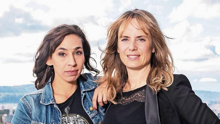 Sorgen in Zürich bald für Recht und Ordnung: Carol Schuler als Tessa Ott und Anna Pieri Zürcher als Isabelle Grandjean.