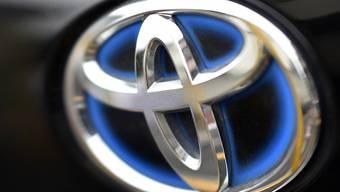 Toyota senkt Jahresprognose. (Archiv)