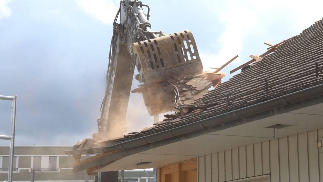 WSB Bahnhof wird abgerissen