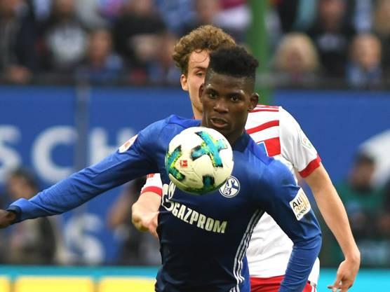 Stürmer Breel Embolo spielt beim FC Schalke 04.