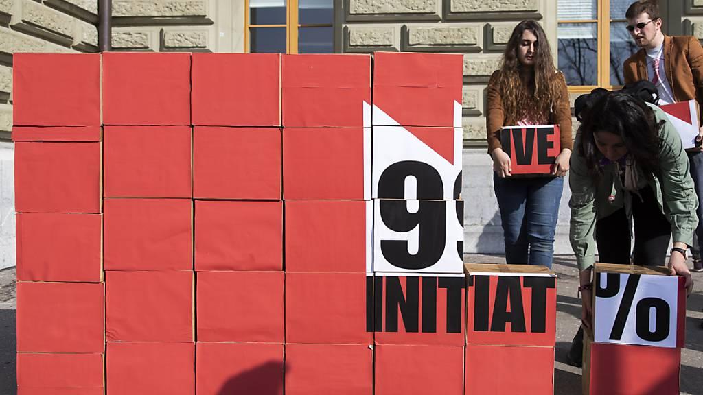 99-Prozent-Initiative der Juso mit Zweidrittelmehrheit abgelehnt