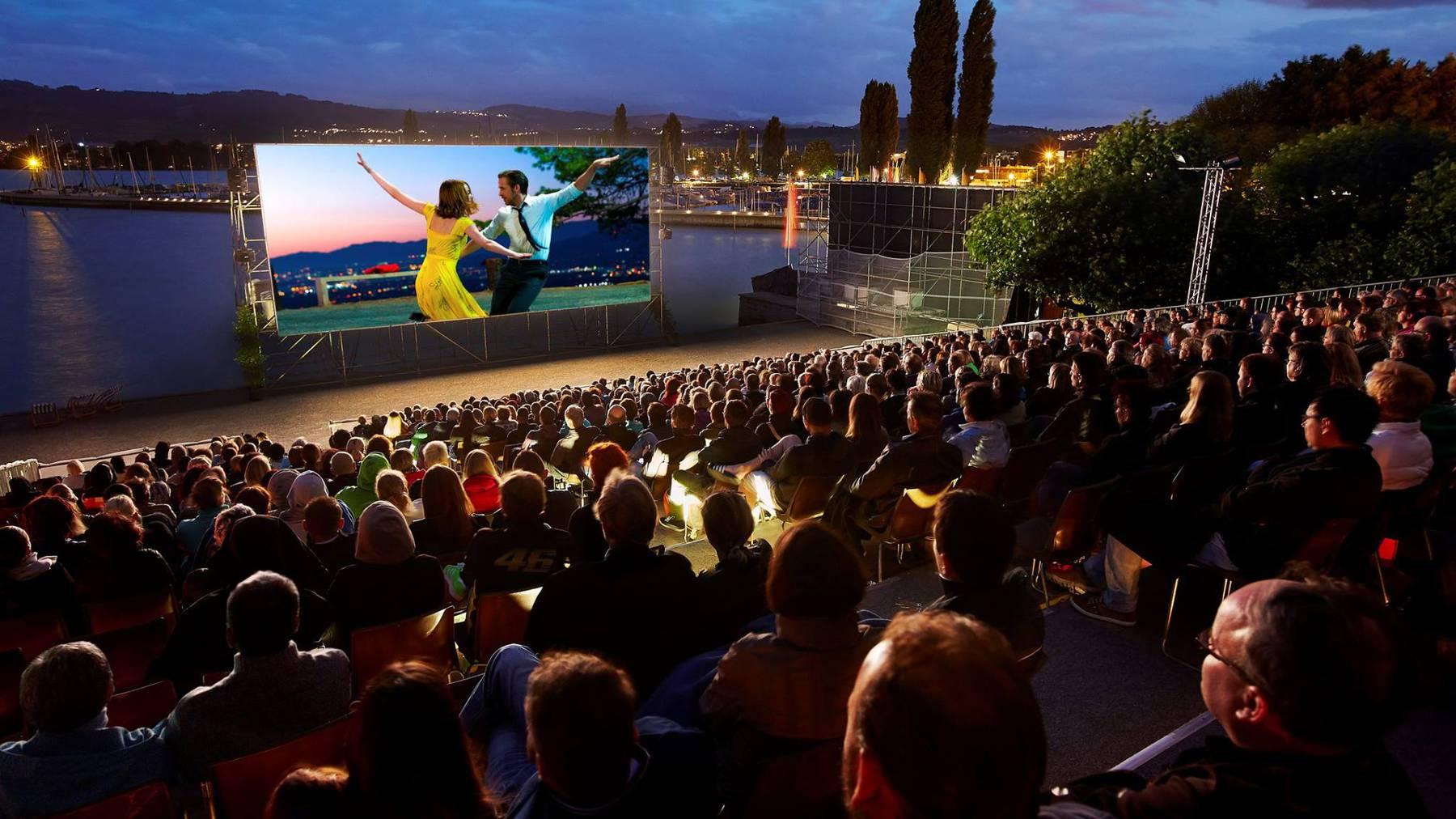Kinovergnügen unter freiem Himmel: Am Open Air Kino in Arbon