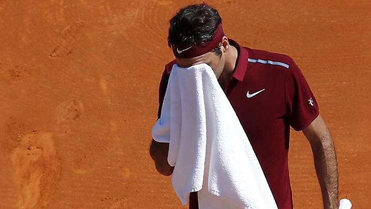 Am Ende den Durchblick verloren: Roger Federer verlor in Monte Carlo in drei Sätzen gegen Jo-Wilfried Tsonga