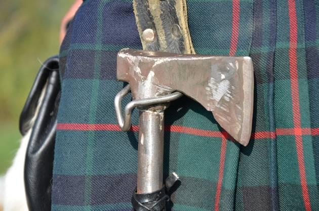 Die Axt war für Wikinger Handwerksgerät und Mordwerkzeug in einem.