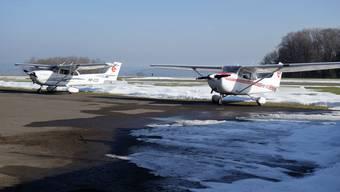 Auf dem Flugsplatz Buttwil kam es 2018 zu einem gefährlichen Vorfall.