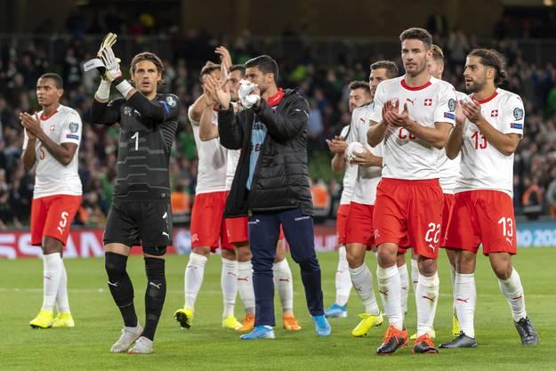 Aus Irland nur einen Punkt entführt: Die Schweiz erreicht in der EM-Qualifikation nur ein 1:1.