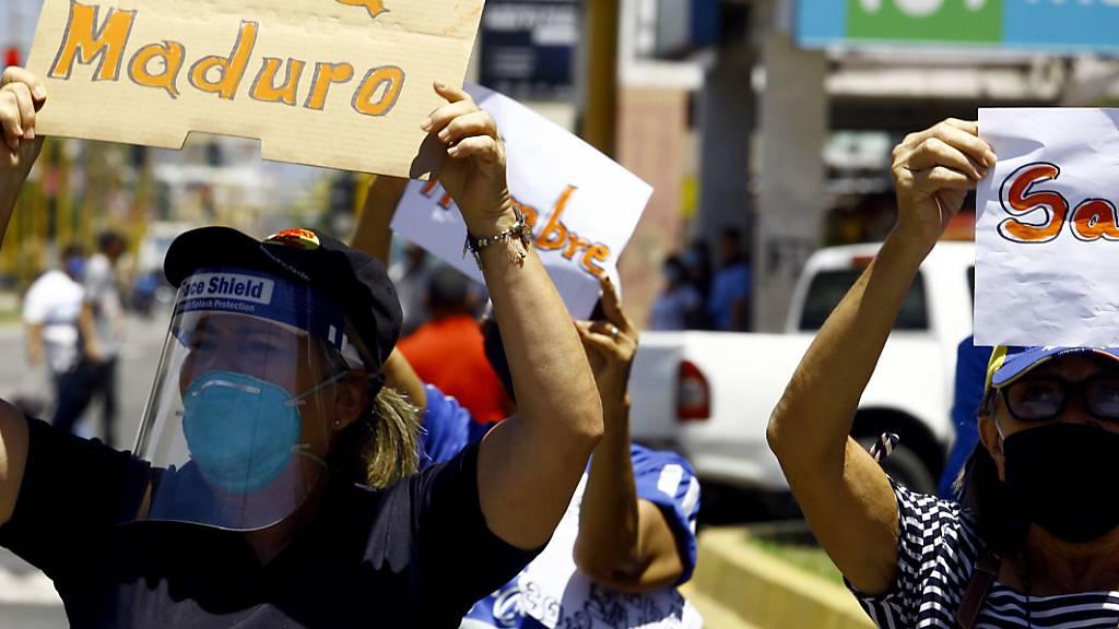 Proteste gegen Versorgungsengpässe in Venezuela