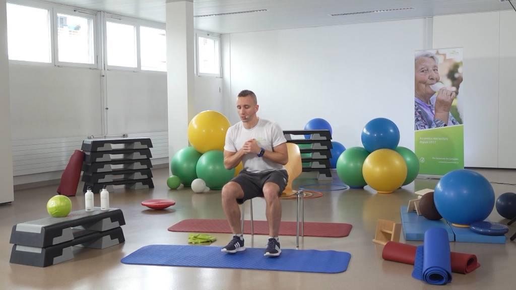 «Gymnastik im Wohnzimmer» vom 28. April 2021