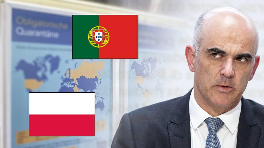 Darum sind Portugal und Polen trotzdem Risikoländer