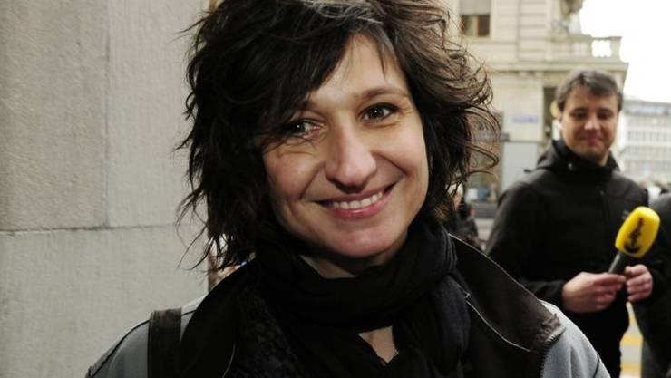 """Will Vorurteile gegenüber obdachlosen Menschen abbauen: Nadja Sieger alias """"Nadeschkin"""". (Archivbild)"""