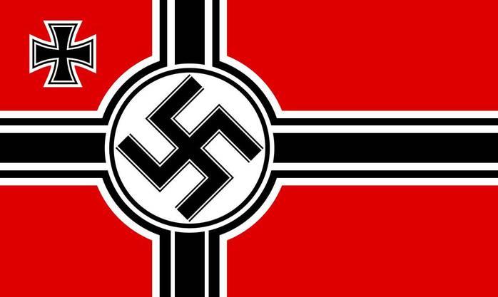 Die Nazireichskriegsflagge