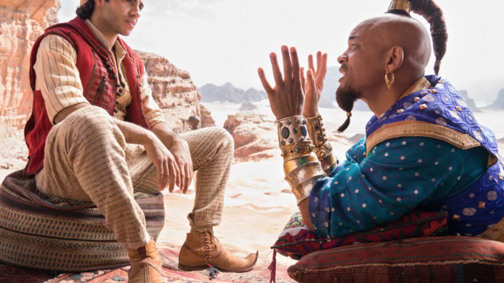 «Aladdin» hat am Wochenende vom 30. Mai bis 2. Juni 2019 schweizweit die Spitze der Kinocharts erreicht. (Archivbild)