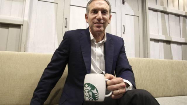 Starbucks-Chef Howard Schultz (Archiv)