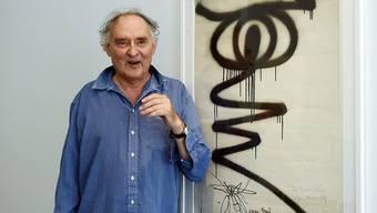 """Der international als """"Sprayer von Zürich"""" bekannt gewordene Künstler Harald Naegeli hat sich mit der Stadt Zürich versöhnt - und ihr als Wiedergutmachung ein Kunstwerk geschenkt. (Archivbild)"""