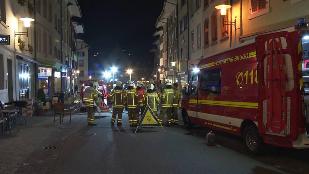 Feuerwehreinsatz in Brugger Altstadt: Kaminbrand rasch gelöscht