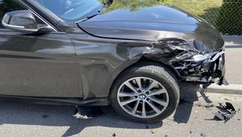 Verkehrsunfall mit Polizeiauto in Schafisheim am 3. Juni 2020